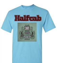 #Camiseta Halfcab Skate Satisfaction www.halfcab.com.br