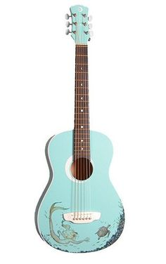 Decorative Acoustic Guitars: This would be a fun project for our kid-size guitar kids-toys-and-books
