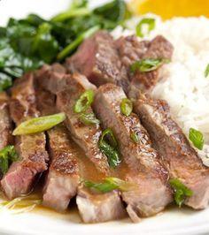 Orange Miso Steak Recipe