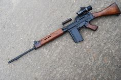 Military Weapons, Weapons Guns, Guns And Ammo, Fal Rifle, Kalashnikov Rifle, Bushcraft Gear, Battle Rifle, Firearms, Shotguns