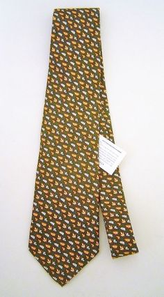 Vineyard Vines Vermont Green Silk Fall Leaves Print Mens Tie NWT  85   fashion  clothing  shoes  accessories  mensaccessories  ties (ebay link) 07a68dae9