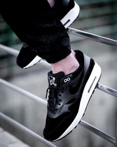 """bf2175feaaa Nike Air Max 1 Premium """"Rebel Skulls"""". A homage to distance running legend"""