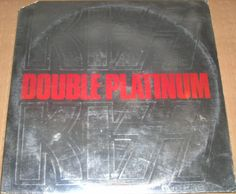 """Kiss """"Double Platinum"""" 1978 EX First Pressing Double Vinyl with inserts"""