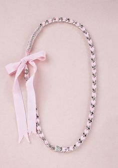 JUICY COUTURE              Convertible Pink Necklace, Beaded Necklace, Juicy Couture Jewelry, Brand Me, Everything Pink, Barbie World, Preppy Outfits, Designer Collection, Betsey Johnson