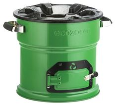 The ecozoom stove reduces smoke emissions up to 70% and reduces the amount of fuel used to 60%
