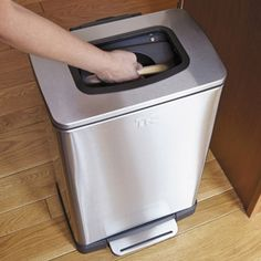 Shop Trash Krusher and Compactor Step Can at CHEFS.