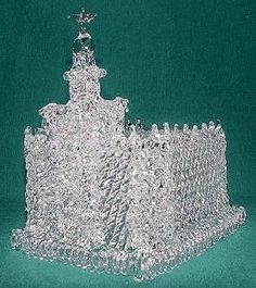 St. George Utah LDS Glass Temple Cake Topper