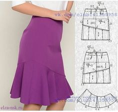 Amazing Sewing Patterns Clone Your Clothes Ideas. Enchanting Sewing Patterns Clone Your Clothes Ideas. Sewing Clothes, Diy Clothes, Clothes For Women, Skirt Patterns Sewing, Clothing Patterns, Quilting Patterns, Quilting Ideas, Pattern Skirt, Pattern Sewing