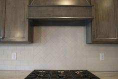 18 - Kitchen Inspiration   Michael David Design Center   #interiordesign #subwaytile #herringbone #kitchen #backsplash #luxuryhome #dreamhome #custom