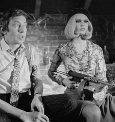 SERGE GAINSBOURG & BRIGITTE BARDOT BONNIE & CLYDE (1967
