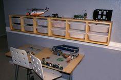 Lego storage and work bench