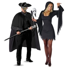 Enchantress and Phantom of Darkness Couples Costume - On Sale Today! Scary Couples Costumes, Darkness, Boyfriend, Punk, Halloween, How To Wear, Style, Fashion, Suits