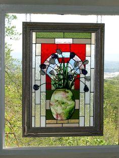 My friend Marlene is a fabulous glass artist - isn't this amazing?