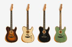 Fender's American Acoustatronic Telecaster Blends the Electric and Acoustic Guitar Fender Guitar Case, Fender Acoustic Guitar, Telecaster Guitar, Fender Guitars, Fender Bender, Recording Studio Design, Cool Electric Guitars, Fender American, Guitar Accessories