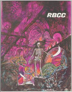 Rocket's Blast Comicollector #130: September 1976, VF/NM, 76 pages, circulation 1,700. Tom Sutton color front cover art and Ralph Fowler back cover art (2001). Feature articles: 2001: A Space Odyssey by James Van Hise, Zero Hero & Starbright by R.C. Harvey, Smaug centerspread artwork by Stephen Fabian, Psycho illustrations by Mark Burbey, Alfred Hitchcock. $25