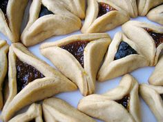 Gourmet Israel: Hamantashen u Orejas de Aman – Pastelillos triangulares de Purim