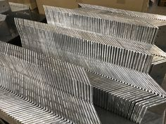 Sub-contract manufacturing of sheet metal brackets of companies in the UK. thses parts are 5mm thick aluminium and they have been CNC punched and CNC bent using Trumpf equipment. Types Of Sheet Metal, Cnc, Wood, Woodwind Instrument, Timber Wood, Trees