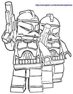 Lego Star Wars Printable Coloring Page Over 100 designs