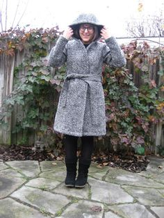 Fabric Mart Fabricistas: Made By A Fabricista: Wool Boucle Winter Coat