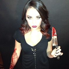 Janel Parrish in Something Wicked