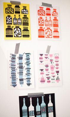 Polkka Jam cards, photo by Absolutely white