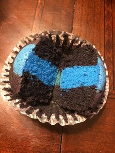 Thin blue line, white cake cupcakes ❤️ facebook.com/ASweetRetreat.Alabama