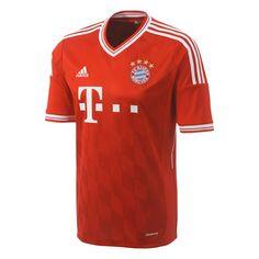 adidas Bayern Munich 2013 2014 Home Soccer Jersey Soccer Gear 7fcd7c164351a