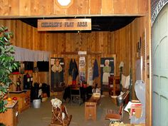 Children's play area by Plain Adventure, via Flickr - The First Ride by Plain Adventure, via Flickr - at Pony Express National Museum.