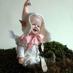 Boudoir Dolls - Art Dolls Olga Kizhaeva  #новаякукла#процесс#обида#печалька#росписьличика#boudoir doll  #Regram via @olga_kizhaeva