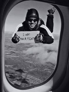humour at 30,000 feet...