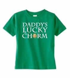 Lucky Charm St Patricks Day Mommy's Lucky by RKCreativeImpression