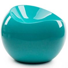 Ball Chair, Turquoise