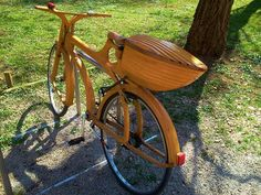 points of interest Wooden Bicycle, Wood Bike, Wooden Wheel, Bicycle Types, Bicycle Wheel, Bicycle Panniers, Antique Bicycles, Power Bike, Bike Art