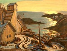 "By Carmella Gray-Cosgrove In November as newspapers reported, an ""all-but-forgotten"" painting by A. Jackson, ""Radium Mine"" emerged from the private collectio… Tom Thomson, Emily Carr, Group Of Seven Artists, Group Of Seven Paintings, Canadian Painters, Canadian Artists, Jackson, Art Folder, Of Montreal"