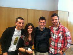 Equipo Sinaia junto a Ricard Camarena, coach del Spain Team Bocuse D'or 2012