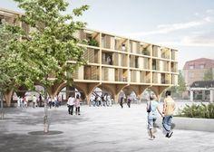 Plaza. Image © JAJA Architects