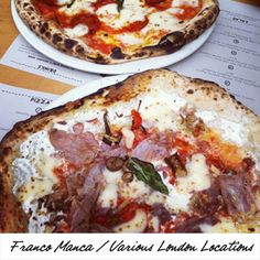 Top 10 pizza places in London