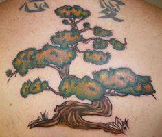 Bonsai Tree for half sleeve under my sun on my shoulder Bug Tattoo, Rock Tattoo, Knee Tattoo, Tattoo Art, Leopard Tattoos, Black Ink Tattoos, Bonsai Tree Tattoos, African Tattoo, Native Tattoos
