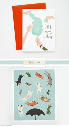 One Good Thing: New Paper Goods at Quill &Fox - Home - Creature Comforts - daily inspiration, style, diy projects + freebies