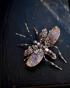 Mosquito Beetle brooch