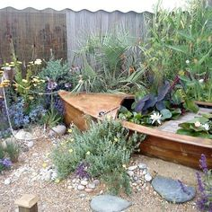 Garden Designs Ideas 2018 Coastal The Boat Is Cliche But I Like Dry Style For A Hot Climate