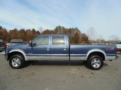 www.emautos.com 2006 Ford F-250 Super Duty Lariat Crew Cab 4x4 Long Bed Diesel Truck for Sale - Locust Grove Virginia