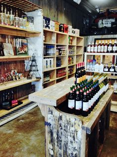 V's Fine Liquor & Beer carries all of your favorites AND Texas-made products like Tito's Vodka and Big Bend Brewery Beer. The inside of V's is really something...I mean, there is a CAR hanging from the ceiling above the coolers, chandeliers, shelves made from old tailgates...a very cool place to stop and shop. Rustic & classy.   Big town selection in a small town shop, V's drive-thru Liquor & Beer is open late and on weekends. On Facebook: https://www.facebook.com/VsFineLiquorStore?fref=ts