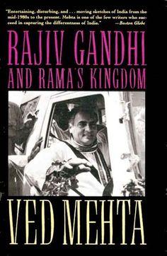 7d9e513be ved mehta Rajiv Gandhi, Indira Gandhi, Biography, Authors, Biography Books,  Author