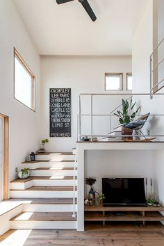 Modern Staircase Design Ideas - Search photos of modern staircases and find design and format ideas to influence your own modern staircase remodel, consisting of unique barriers and storage space . Source by zacklazovsky fashion idea House Design, Interior, Home, Interior Architecture, Staircase Design, Loft Design, House Interior, Home Interior Design, Home And Living
