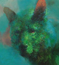 SAMULI HEIMONEN Ruohonjuuri, 2015 acrylic and oil on canvas 120 x 110 cm