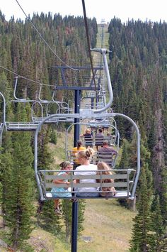 The fun stop doesn't stop just because there's no snow:  Summer at #Pomerrelle Ski Mountain, Albion, southcentral #Idaho   Visitidaho.org