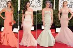 Trend Report: Spring In Bloom At The Golden Globes 2013