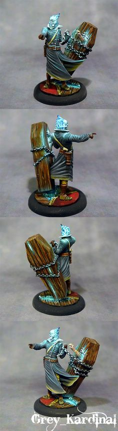 Malifaux - Death marshal recruiter #1