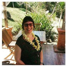 Arrived at Candi Dasa East Bali to a warm welcome iced tea and a flower necklace. Love the Balinese hospitality! #bali #holidays #liburan #Lebaran #yay #fun
